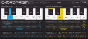 Chordprism ui blue gold plugin boutique