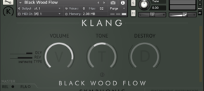 Klang blackwoodflow gui pluginboutique